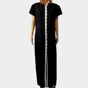 Vintage Dress 90's Maxi Asian Inspired